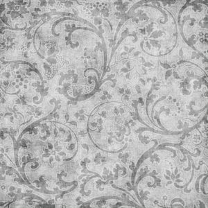Grey Floral Resized Grayscale